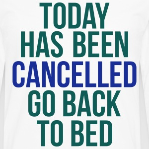 today has been cancelled T-shirts - Långärmad premium-T-shirt herr