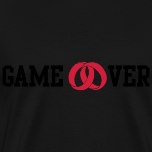 game over Sweaters - Mannen Premium T-shirt