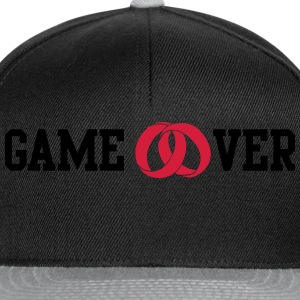 game over Hoodies & Sweatshirts - Snapback Cap
