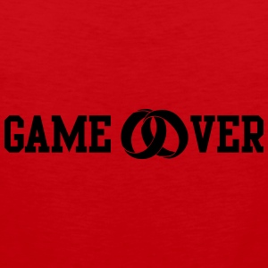 game over T-shirts - Premiumtanktopp herr