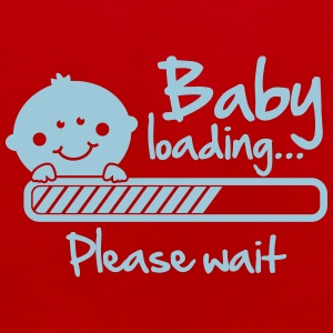Baby loading - please wait T-Shirts - Men's Premium Tank Top