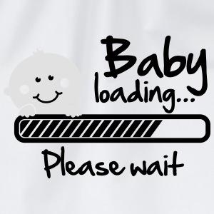 Baby loading - please wait Pullover & Hoodies - Turnbeutel