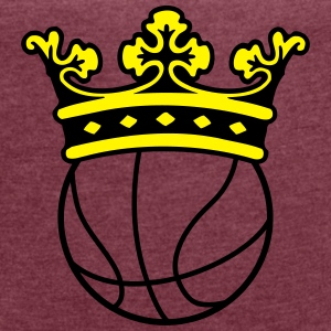 basketball crown Accessories - Women's T-shirt with rolled up sleeves