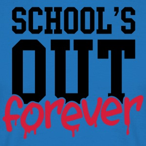 school's out forever Tabliers - T-shirt Homme