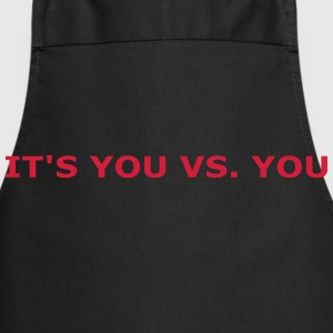 You vs. You Camisetas - Delantal de cocina