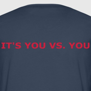 You vs. You T-Shirts - Männer Premium Langarmshirt