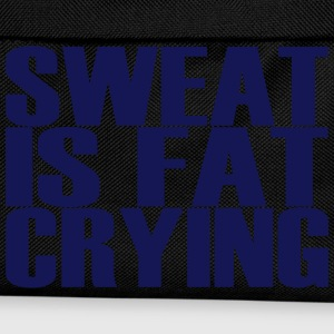 Sweat is Fat Crying T-shirts - Rygsæk til børn