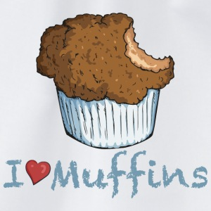 I love Muffins T-shirts - Gymtas
