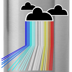 rainbow cloud T-Shirts - Trinkflasche