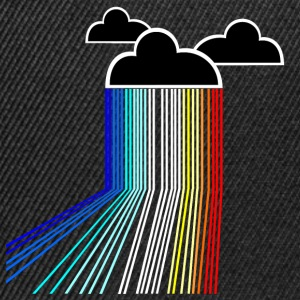 rainbow cloud T-Shirts - Snapback Cap
