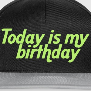 Today is my birthday T-Shirts - Snapback Cap