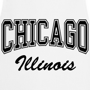 chicago_illinois T-Shirts - Kochschürze