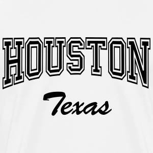 houston_texas Langarmshirts - Männer Premium T-Shirt