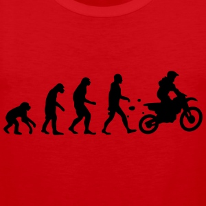 evolution motocross T-shirts - Mannen Premium tank top