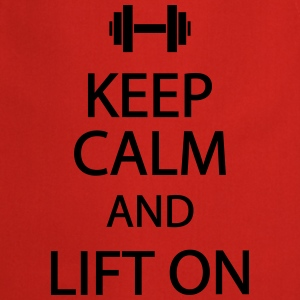 Keep calm and lift on T-skjorter - Kokkeforkle