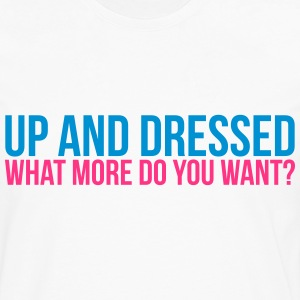 up & dressed T-shirts - Herre premium T-shirt med lange ærmer