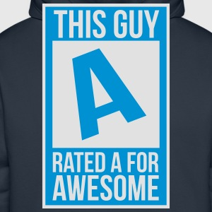rated a T-shirts - Premiumluvtröja herr