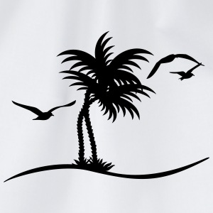 Palmen / palm trees (1c) Shirts - Drawstring Bag