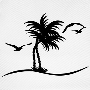 Palmen / palm trees (1c) Shirts - Baseball Cap