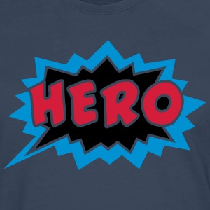 Comic, Hero, Speech Bubble, Superhero, Cartoon Tee shirts - T-shirt manches longues Premium Homme
