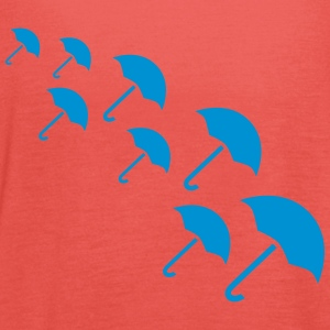 Umbrella Design T-shirts - Dame tanktop fra Bella