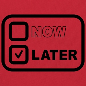 Now Later Tee shirts - Sac Retro