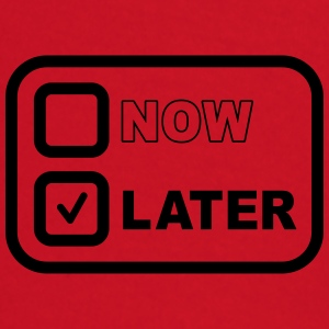 Now Later Camisetas - Camiseta manga larga bebé