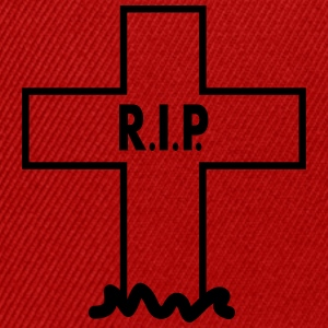 RIP Cross T-Shirts - Snapback Cap