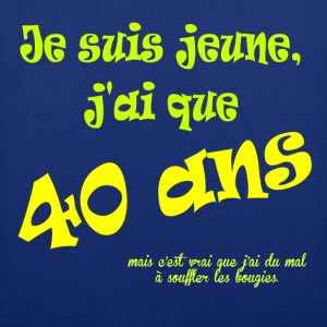 40ans Tee shirts - Tote Bag