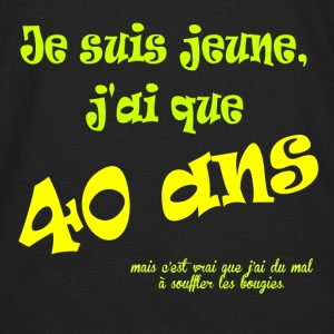 40ans Tee shirts - T-shirt manches longues Premium Homme