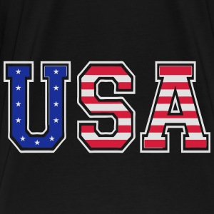 usa 04 Bags & backpacks - Men's Premium T-Shirt