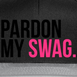 pardon my swag Tee shirts - Casquette snapback