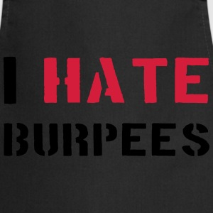 I Hate Burpees Camisetas - Delantal de cocina