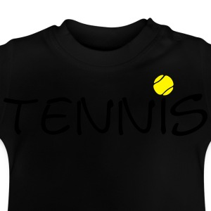 Tennis ball tennis ball racket sports 2c Shirts - Baby T-Shirt
