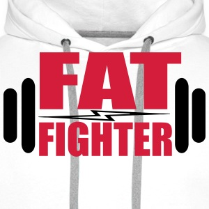 Fat Fighter T-shirts - Herre Premium hættetrøje