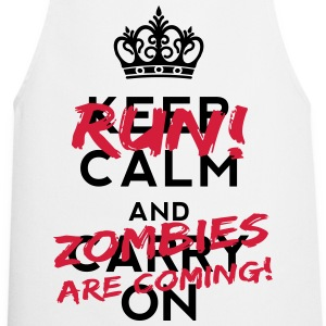 Zombies Are Coming T-shirts - Forklæde