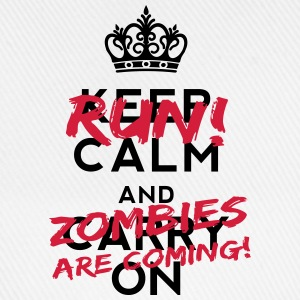 Zombies Are Coming T-shirts - Baseballkasket