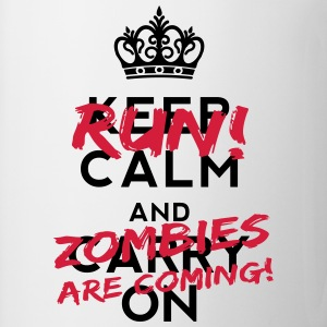 Zombies Are Coming Tee shirts - Tasse