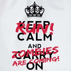 Zombies Are Coming Kopper og flasker - Gymbag