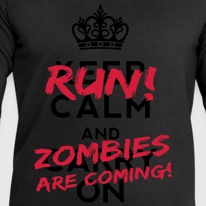 Zombies Are Coming T-shirts - Herresweatshirt fra Stanley og Stella