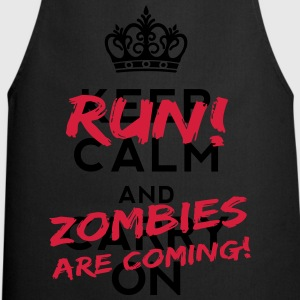 Zombies Are Coming Shirts - Cooking Apron