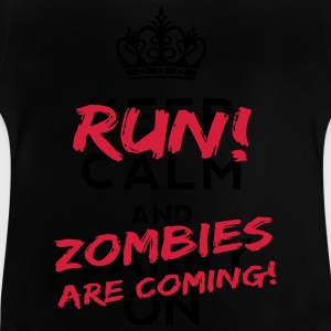 Zombies Are Coming T-shirts - Baby-T-shirt