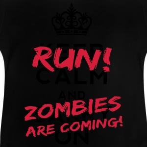 Zombies Are Coming Monster T-Shirts - Baby T-Shirt