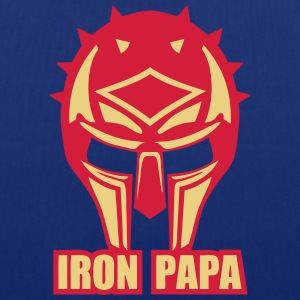 iron papa casque armure ironpapa cask Tee shirts - Tote Bag