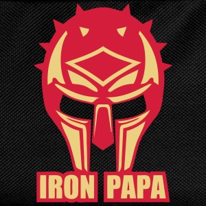 iron papa casque armure ironpapa cask Sweat-shirts - Sac à dos Enfant