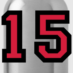 Number15 T-Shirt - Water Bottle
