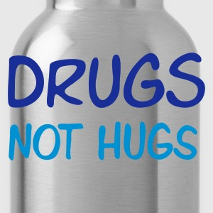 Sand beige drugs not hugs Men's T-Shirts - Drikkeflaske