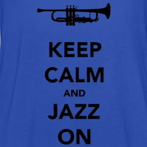 Keep Calm and Jazz On Trumpet - Women's Tank Top by Bella