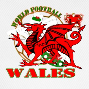 Wales world football soccer t-shirts - Baseball Cap