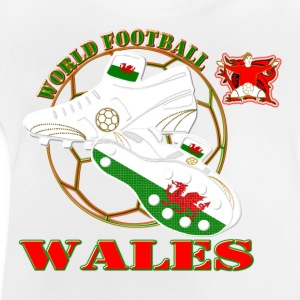 Wales world football soccer t-shirts - Baby T-Shirt
